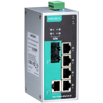 Switch EDS-P206A-4PoE-M-ST-T